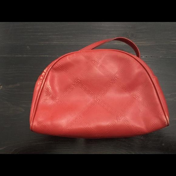 29292ecbe519 Yves St Laurent mini red bag with strap. M 5b833d2d5098a02e2ea62568